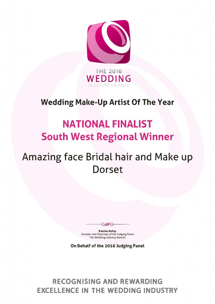 Best Wedding Make Up Artist - of the year