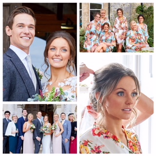One of our super summer weddings Chrissy and Tom