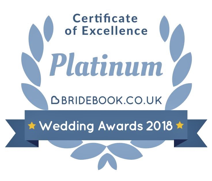 Bridebook Wedding Awards 2018